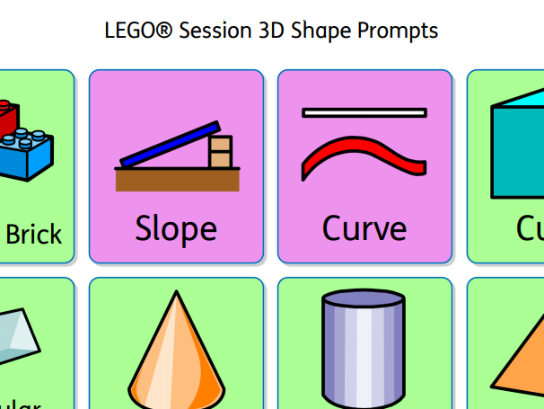 LEGO® Session 3D Shape Prompts