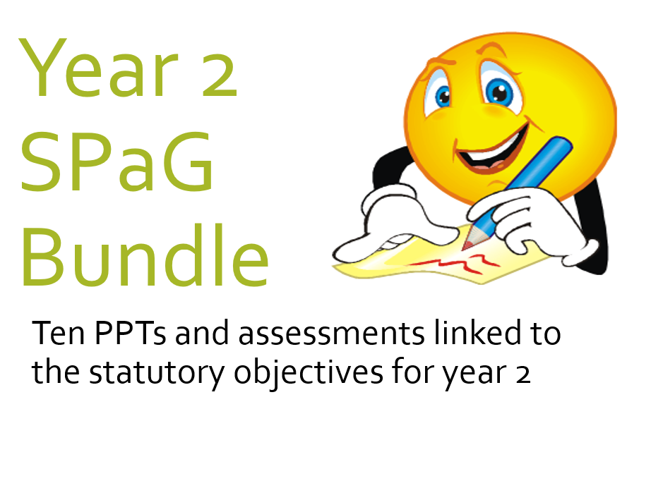 Year 2 SPAG PPT Bundle