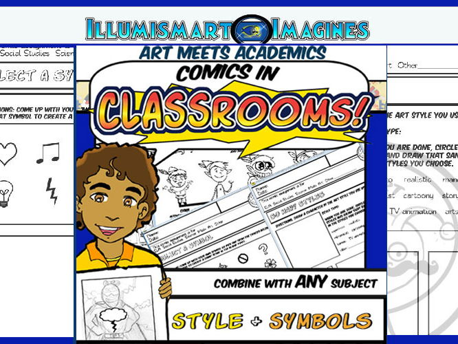 Comics in Classrooms Lesson: Style and Symbols