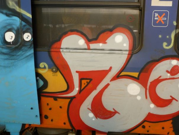 Graffiti - Street-art - Wall-art! photos from Amsterdam - urban photography - Fons Heijnsbroek