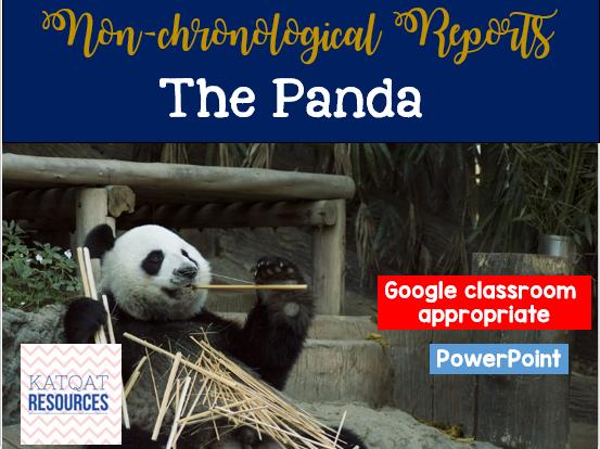 Panda - Non chronological reports