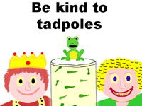Please Be Kind To Little Tadpoles - Preschool Song, Video & Sheet Music
