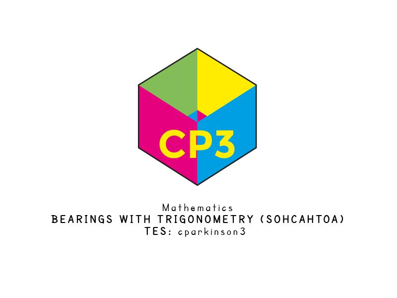 Bearings with trigonometry (SOHCAHTOA)
