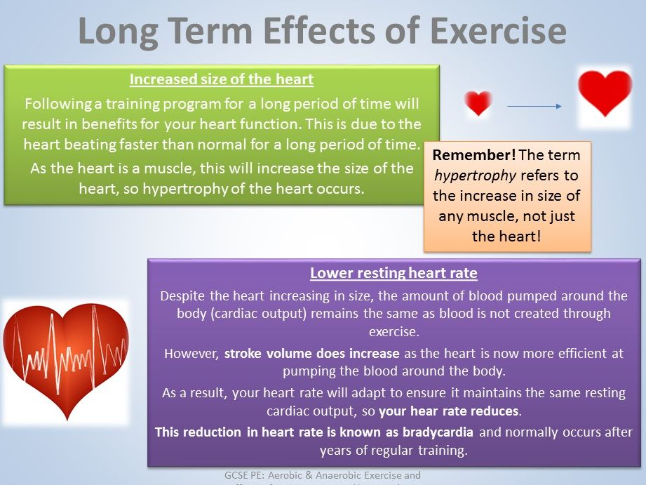GCSE PE - Anatomy & Physiology - Aerobic & Anaerobic with effects on exercise