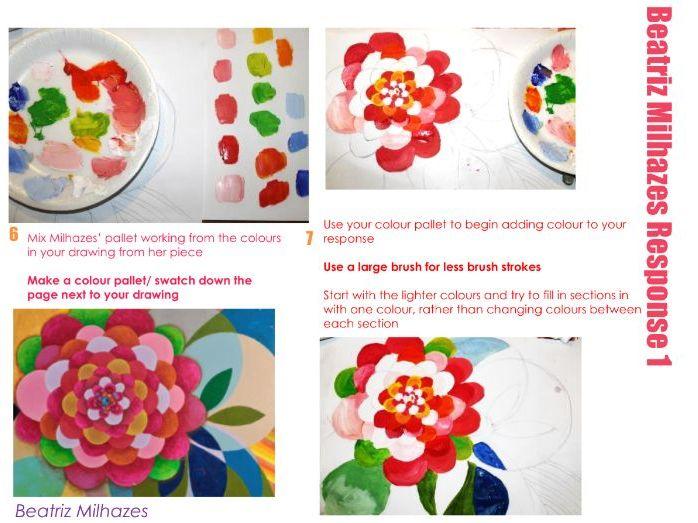 Artist research - Beatriz Milhazes - Natural Forms ...