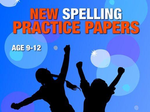 Let's Practice Spelling (Pack 4) 9-12 years