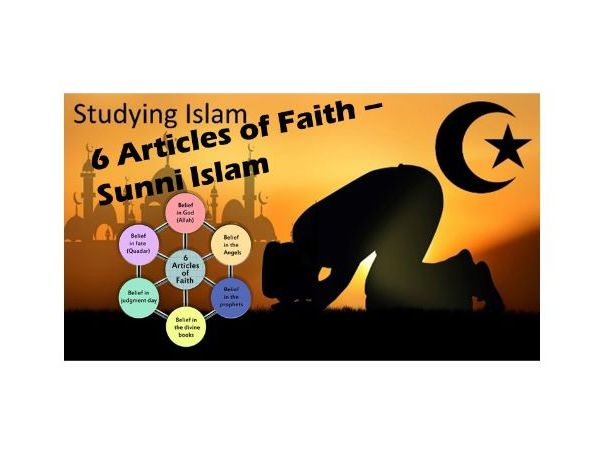 6 ARTICLES of FAITH - Sunni Islam - AQA