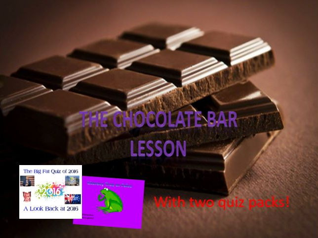The Chocolate Bar Design Lesson By Engageinenglish Teaching