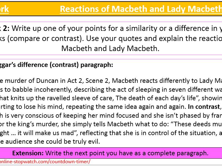 a comparison of macbeth and bigger