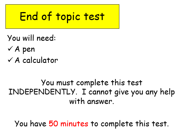 Edexcel Psychology (9-1) GCSE New Spec Unit 1 Lesson 24 - End of Unit Assessment
