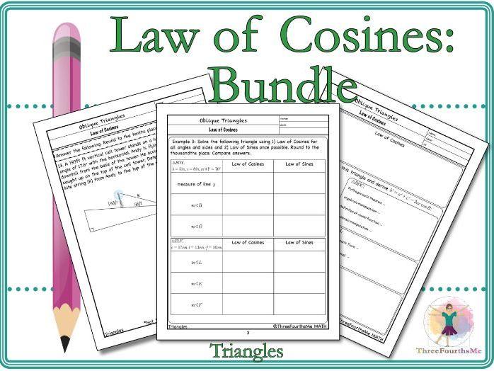 Law of Cosines: Bundle