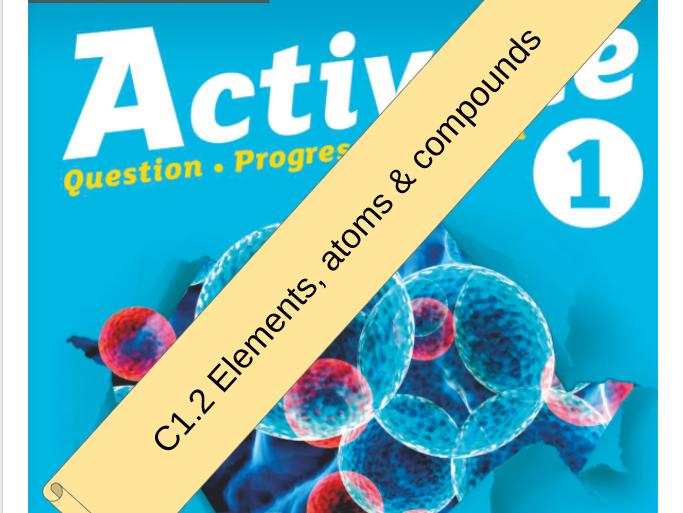 KS3 Activate 1 Bundle: C2 Atoms, elements and compounds