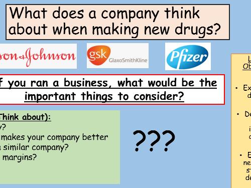 Drug Development GCSE Full Lesson