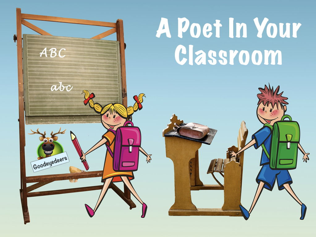 A Poet In Your Classroom - KS2/KS3 - Readings and workshops.