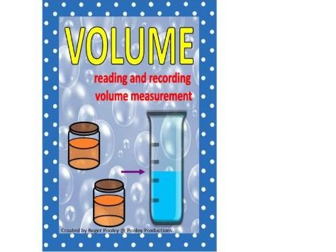 Volume:  Reading and Recording Measurements