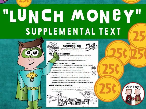 Lunch Money Reading Discussion Questions