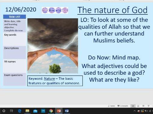 Nature of God - Islam