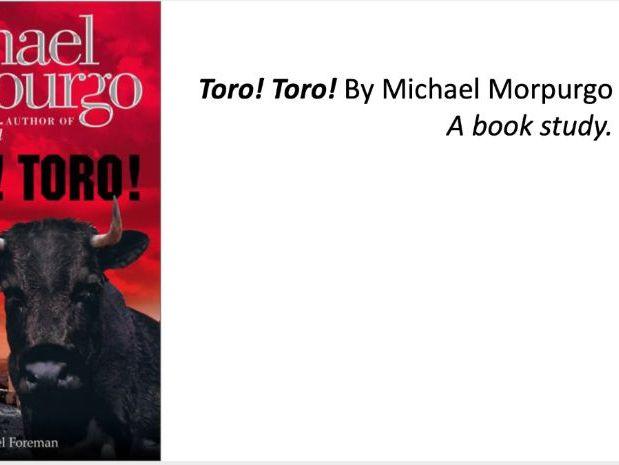 Toro! Toro! Book Study - Michael Morpurgo