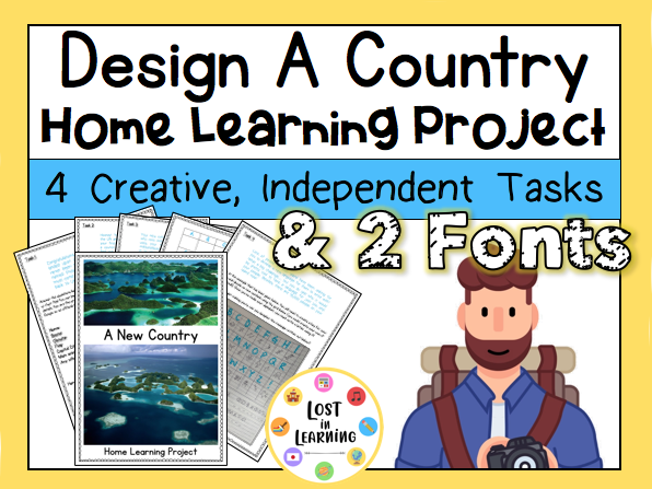 Design a Country: Home Learning Project