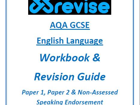 AQA GCSE English Language Workbook & Revision Guide