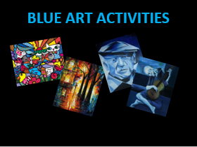 BLUE Art Activities KS2: Art Day