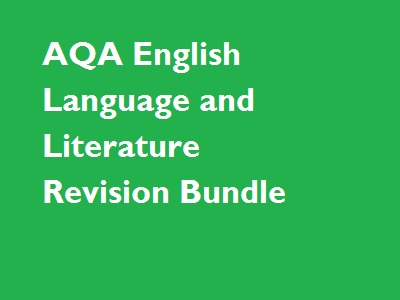 AQA English Language and Literature Revision Resources