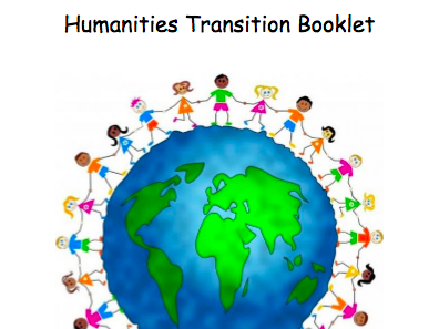 Humanities transition booklet for Y6 to Y7