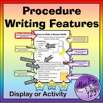 Procedure Writing Features - Display or Activity