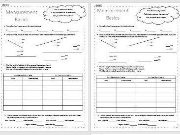 Measurement - Length - Maths - KS2 - Differentiated