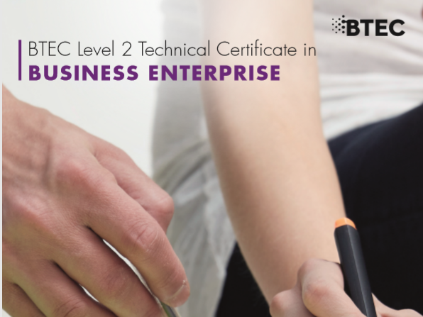 BTEC Level 2 Technical Certificate in Business Enterprise Unit 1 Learning Aim D Task