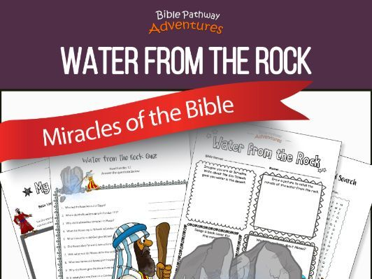 Bible Miracles: Moses and Water from the Rock