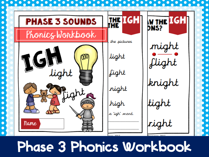 Igh Phonics Workbook By Classroomowlresources Teaching Resources