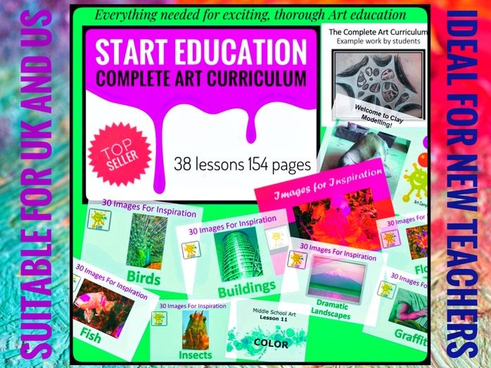 ART 2018-19. Complete Art Curriculum and Support Resources
