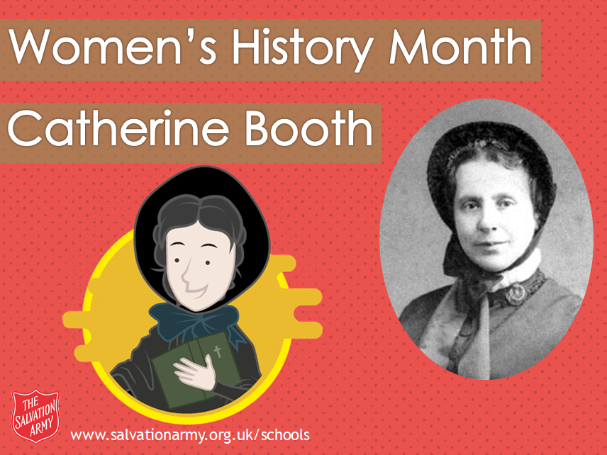 Women's History Month Assembly - Catherine Booth (The Salvation Army)