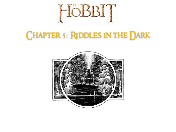 The Hobbit J R R Tolkien Chapter 5 No Prep Activities Answers Guide Teaching Resources