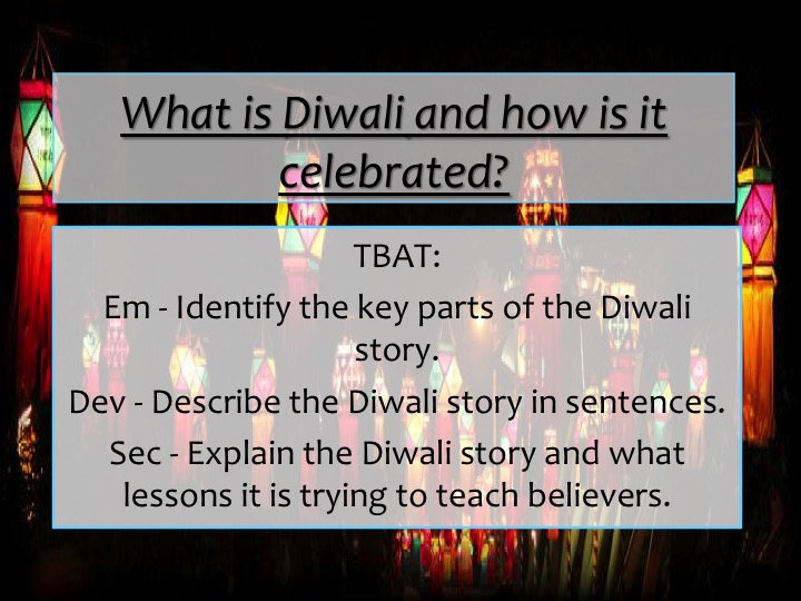The Diwali Story
