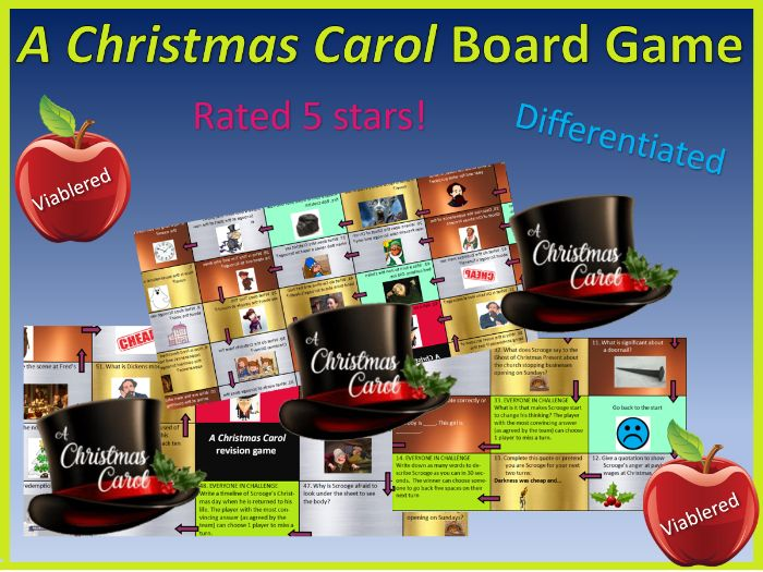 A Christmas Carol board game (differentiated)