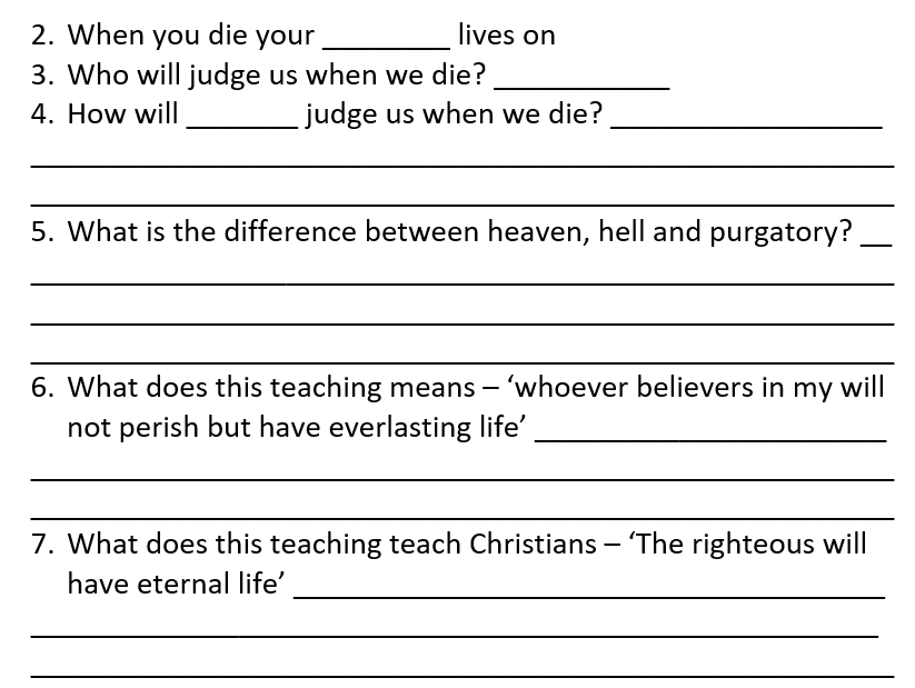 RS GCSE AQA Christianity work booklet