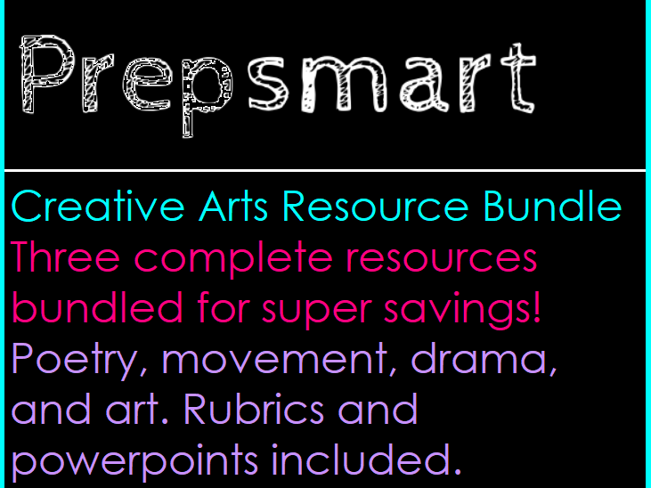 Creative Arts Bundle 1
