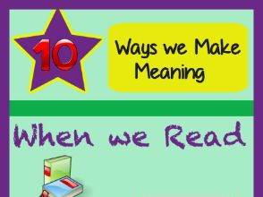 10 ways we make meaning when we read Infographic.