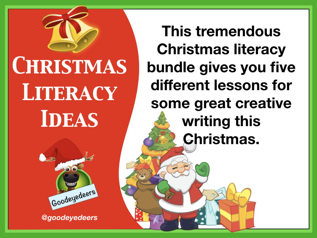 Christmas Literacy Bundle for KS2