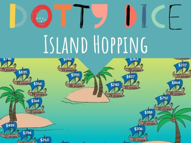Numeracy Board Game - Island Hopping - Early  Additive