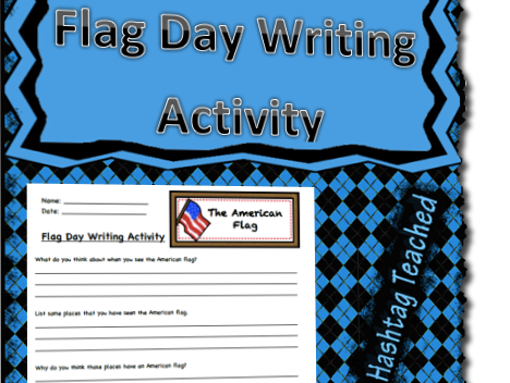 American Flag Day Writing Activity