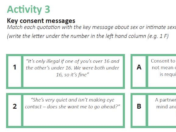 Key Consent Messages (Session 2)