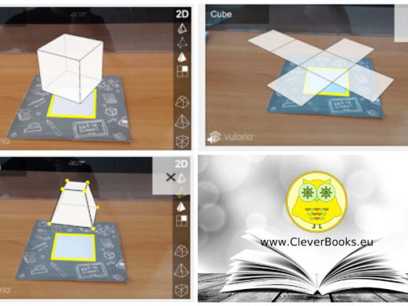 Geometry app with Augmented Reality