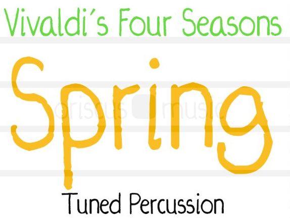 Vivaldi's Four Seasons 'Spring' Arrangement (Boomwhackers/Handbells/Percussion)