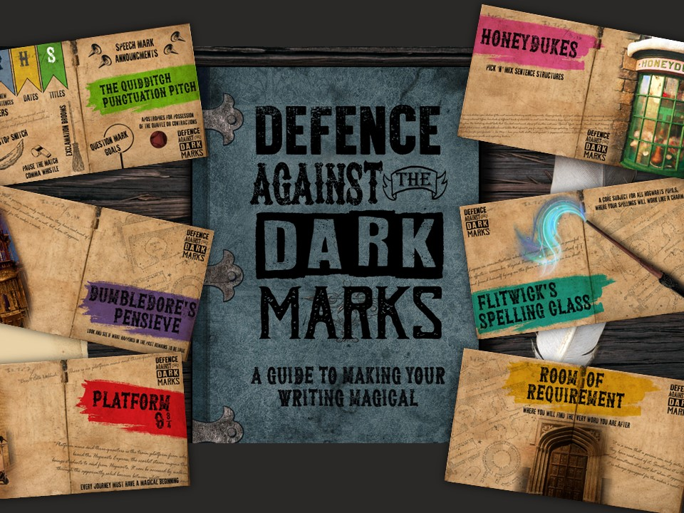 Proof Reading Skill Development- Harry Potter themed (Defence Against the Dark Marks)
