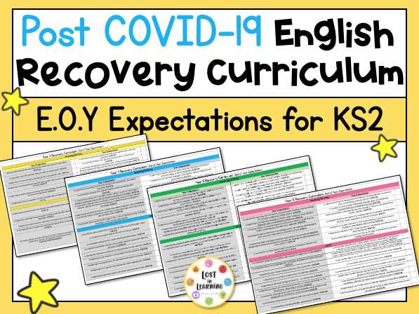 Post-COVID KS2 English Expectations (Recovery Curriculum)