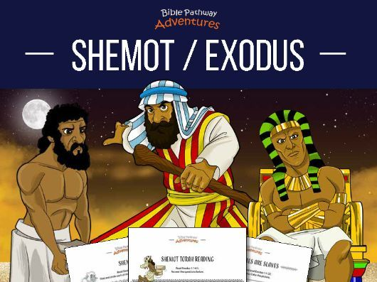 Shemot | Exodus: Torah Portion Activity Book