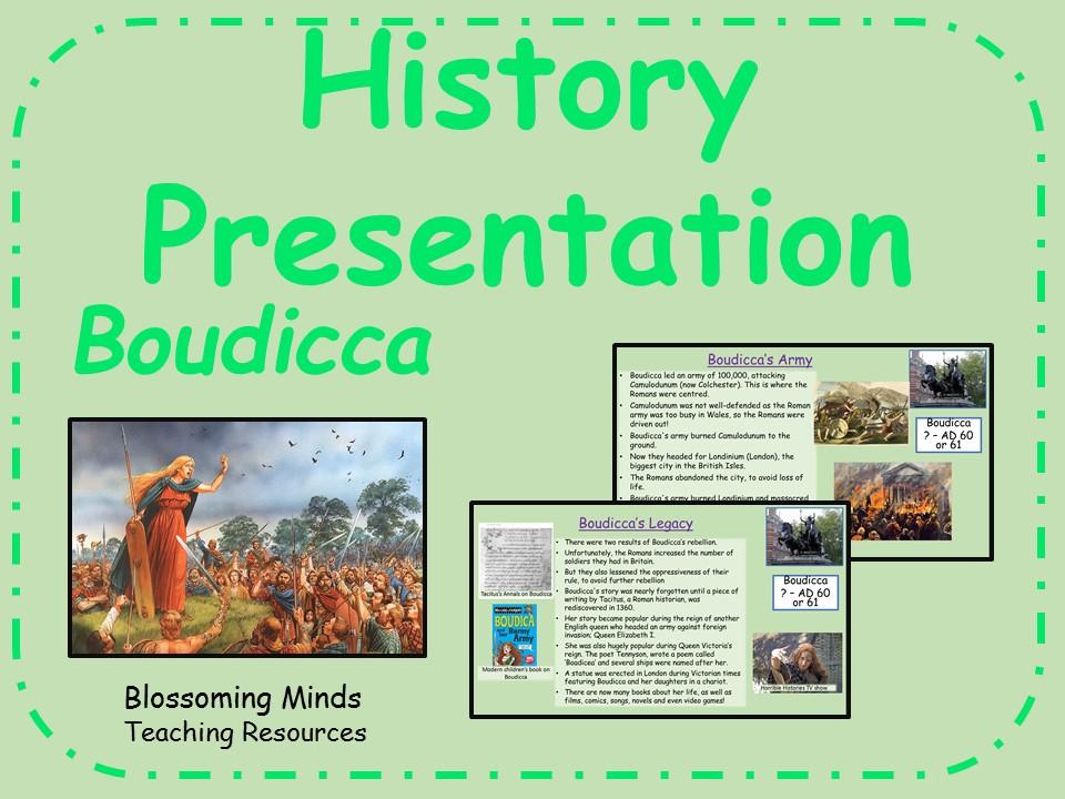 History presentation - Boudicca